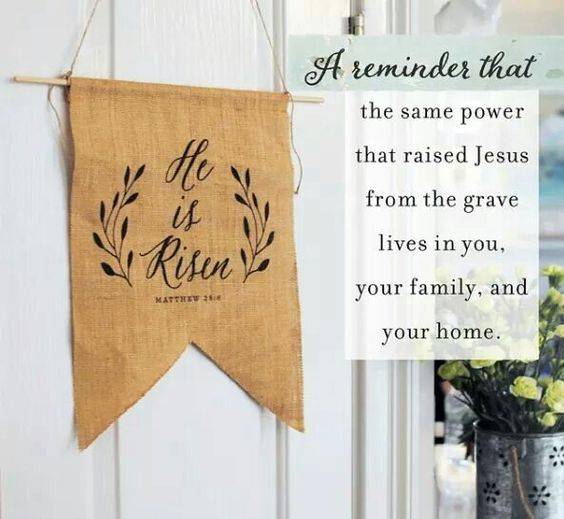 He is Risen! .