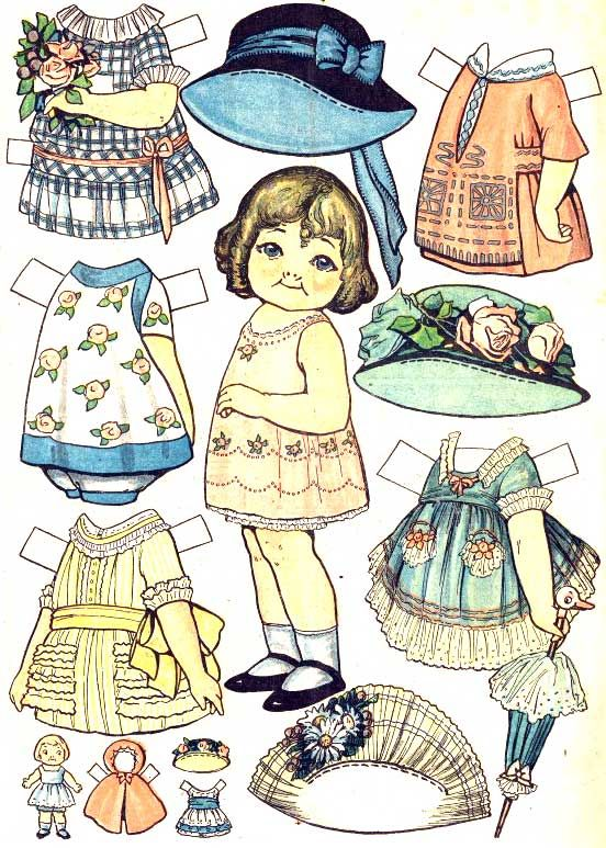 Campbell's Paper Dolls (?)