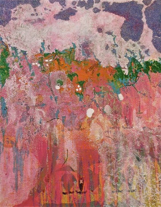 """Saatchi Online Artist: Judith Shaylor, Spain; Mixed Media, 2011, Painting """"Stain 7"""""""