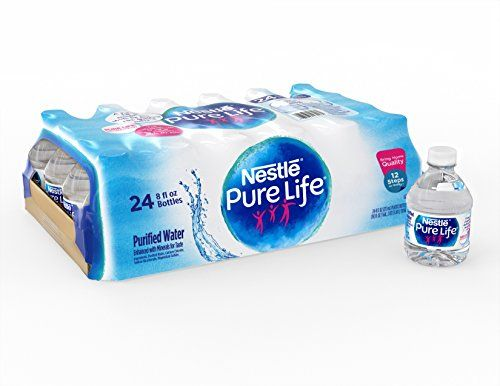 Nestle Pure Life Purified Water 8 Fl Oz Plastic Bottles Https Www Amazon Com Dp B014p1gkhg Ref Cm Sw R Nestle Pure Life Mini Water Bottles Pure Products