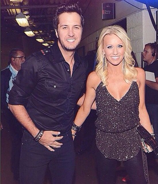 Luke Bryan and wife, Caroline                                                                                                                                                      More