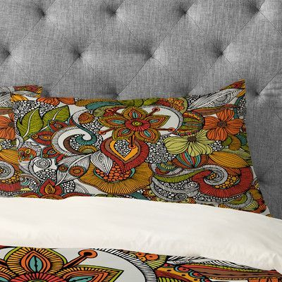DENY Designs Valentina Ramos Ava Pillowcase Size: