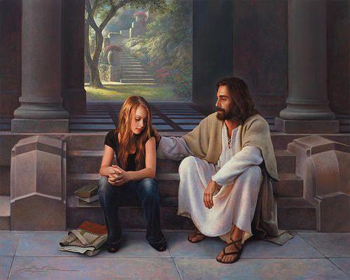 Él nunca nos deja solos