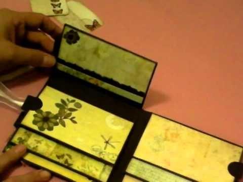 Mini Flip Insert for mini album--This video is not a tutorial per se but she has many mini album tutorials on youtube