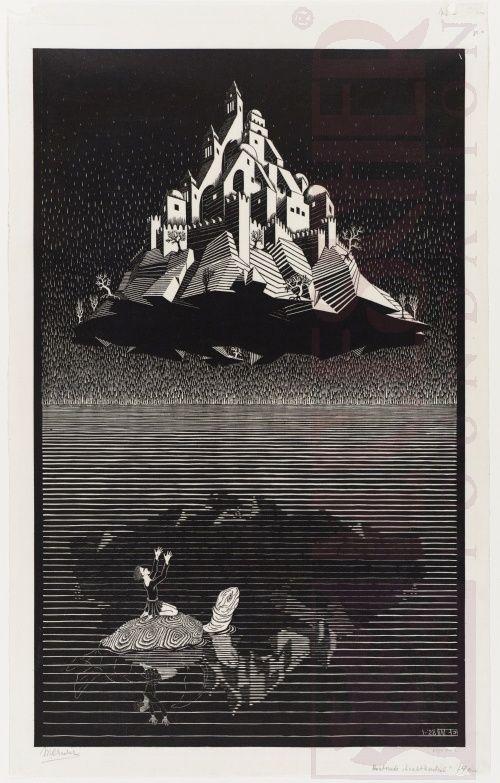 Italian Period M C Escher The Official Website Mc Escher Art Escher Art Art Block
