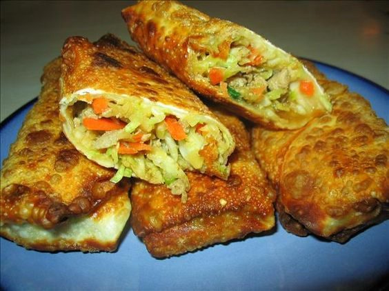 Pork Egg Roll Recipes Chinese Food Network