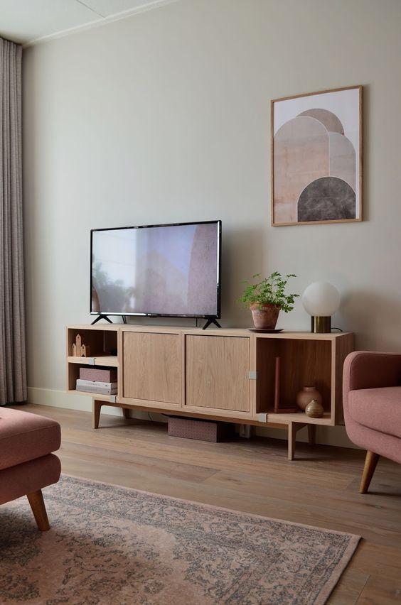 テレビボード インテリア コーディネート例 アート