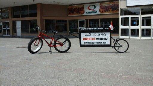 Wabbit  Bike  Ads  Sudbury   Get Noticed  Go  Mobile . .... Time  for  change !