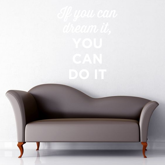 You Can Dream Wall Quote
