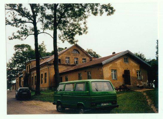 Willkischken, ehemaliges Gutshaus - etwa gegenüber der Kirche