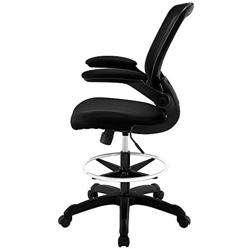 Drafting Stool On Wheels Casters Rolling Desk Chair With Arms