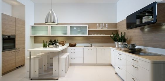 weiße küchenschränke moderne designer küchen nolte Kitchen