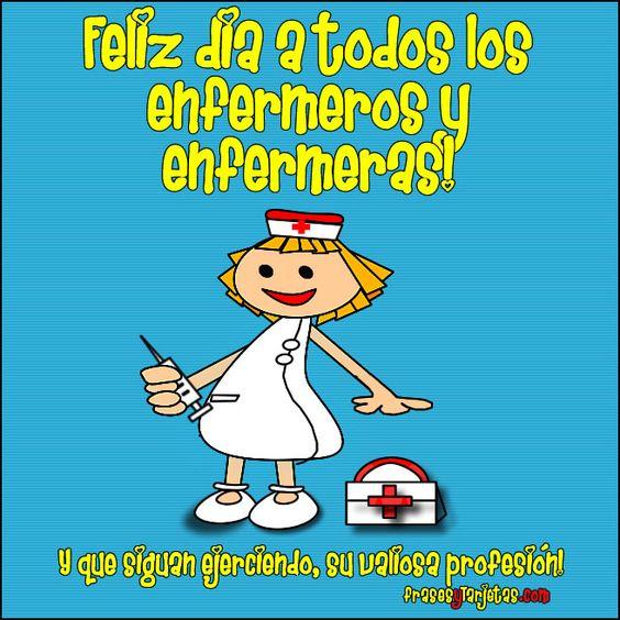 Feliz día de la enfermera: Lindo dia para ustedes enfermeras