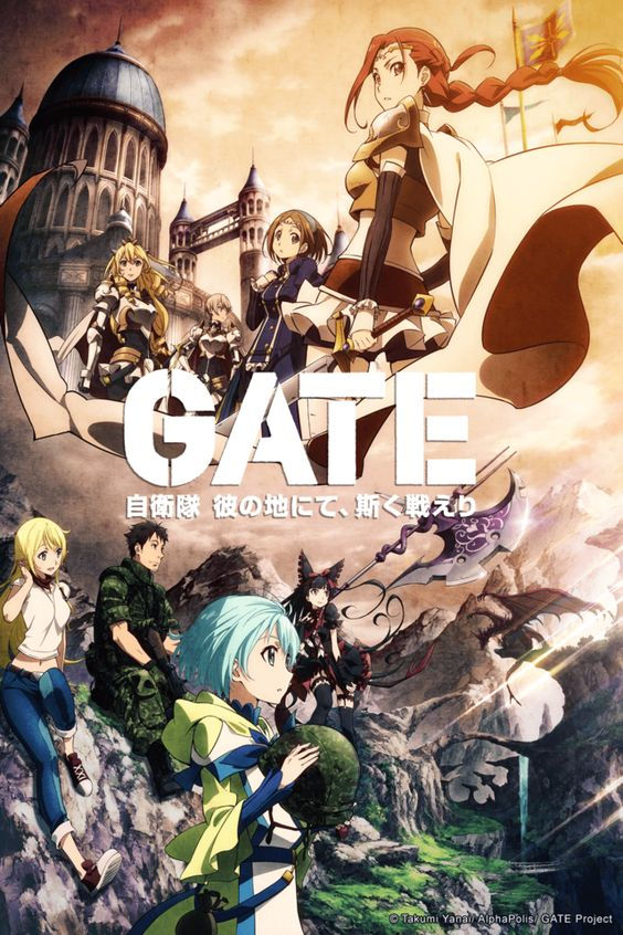 Adds Gate Anime To Summer 2015 Simulcast Lineup Anime Fight