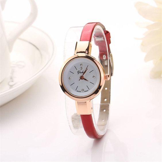 Spl 2016 Luxury Brand Whatch Quartz Wristwatch Ladies Watch Clock Casual Watch Leather Bracelet Watch Women relogio feminino