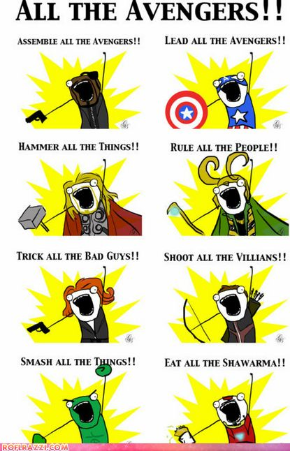 ALL The Avengers!!