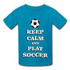 Play Soccer Kids' Shirts