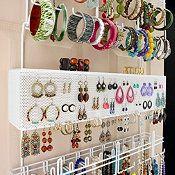 Over the Door/Wall Jewelry Organizer