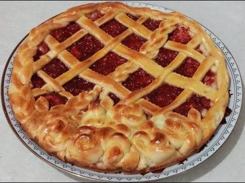 طريقة تحضير أحلى فطيرة أو تارت بالمربى اقتصادية بدون زبدة Food Tarte Pie