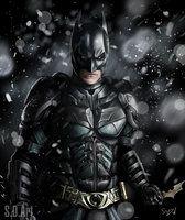 Batman by SamDenmarkArt