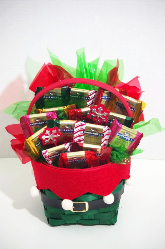 Ghirardelli Merry Christmas Basket