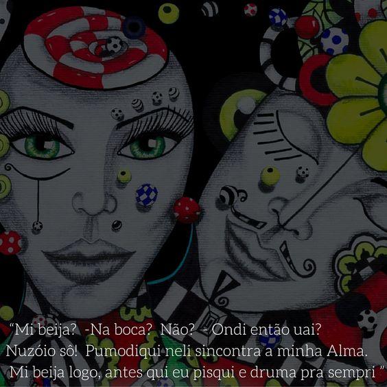 Ilustração Muié Colores - Gira-Zóio