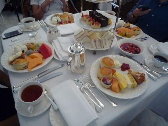High Tea at Raffles Hotel Singapore