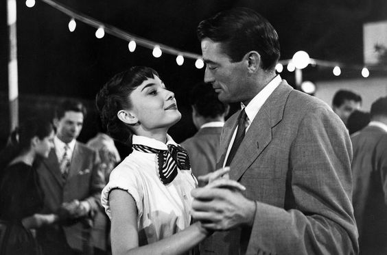 Audrey Hepburn & Gregory Peck in Roman Holiday (1953)