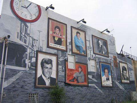 Image detail for -South Philadelphia Teen Idols Mural   Uwishunu - Philadelphia Blog ...