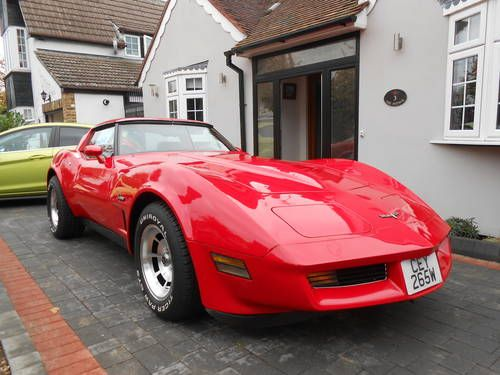 1981 Corvette C3 Automatic Stunning Red Bodywork Red Interior Immaculate Condition Lots Of Renovation Work Done Tuned Corvette C3 Corvette Little Red Corvette