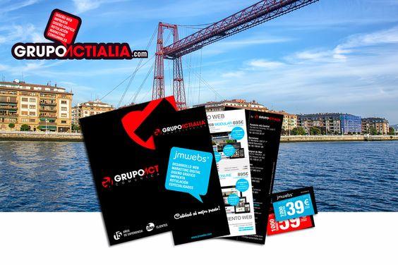 Grupo Actialia ha presentado sus servicios en Bilbao de diseño web, diseño gráfico, imprenta, rotulación y marketing digital. Para más información www.grupoactialia.com o 91.159.16.78