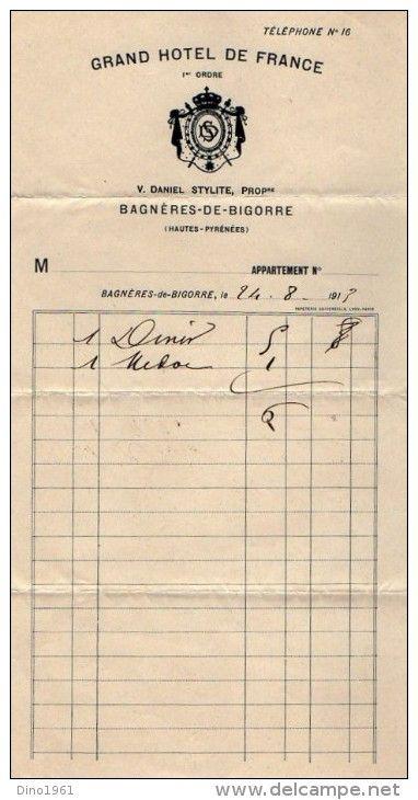 Vieux Papiers > Factures & Documents commerciaux > France > Petits métiers - Delcampe.net