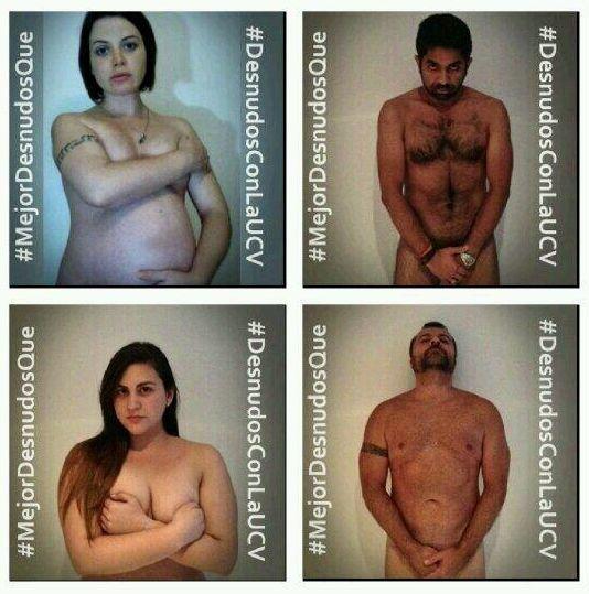#MejorDesnudoQue un pais en dictadura, hambre y violencia
