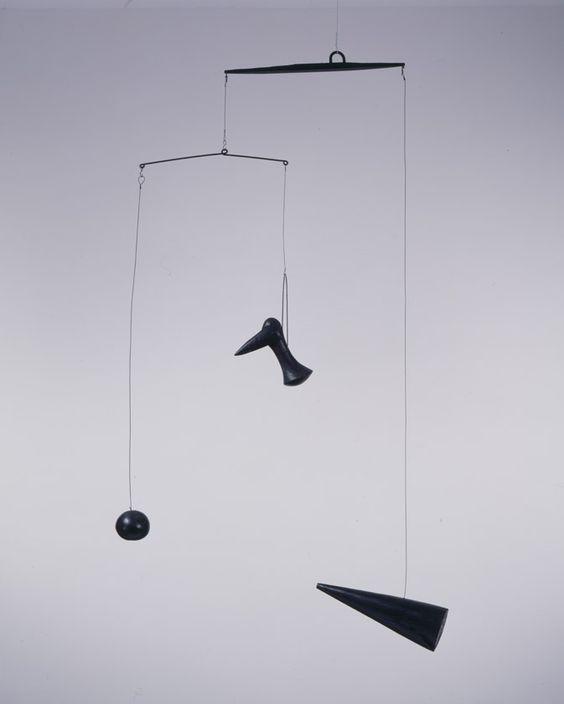 Alexander Calder Hanging Mobile 1933.