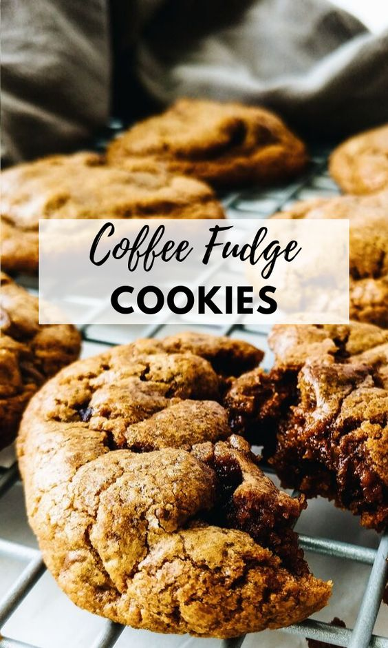 Decadent Fudge Hazelnut Espresso Cookies