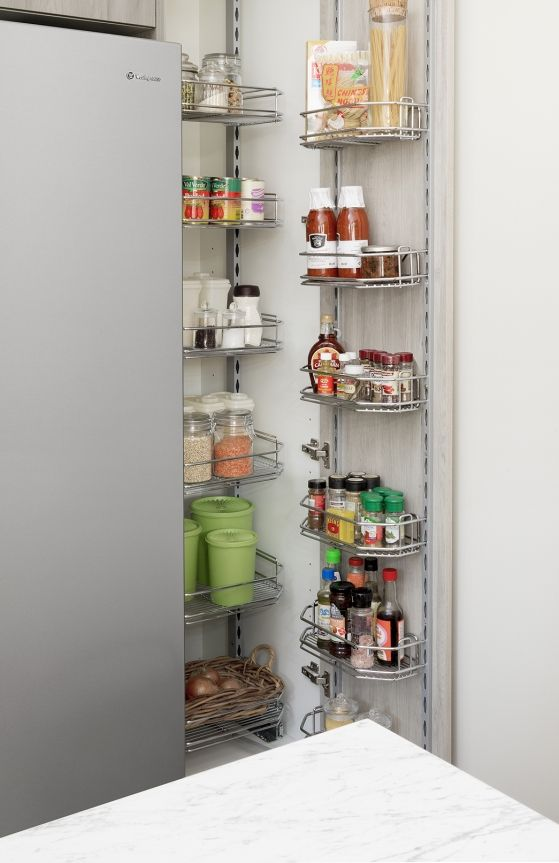 Pantry Storage 101 Organise And Store All Of The Goods In Your Pantry With Our Kaboodle Wireware Perfec Diy Kitchen Renovation Kitchen Storage Hacks Kaboodle