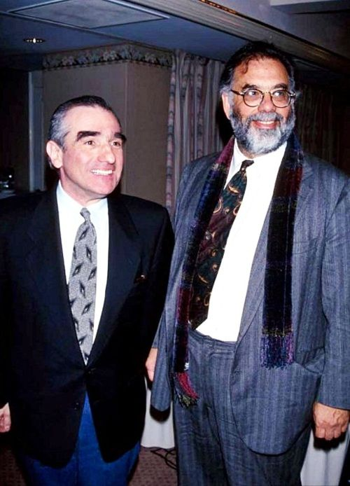 Martin Scorsese and Francis Ford Coppola.