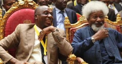 Welcome To Nelly Jackson's Blog: N82million Wole Soyinka Dinner: Information Commis...