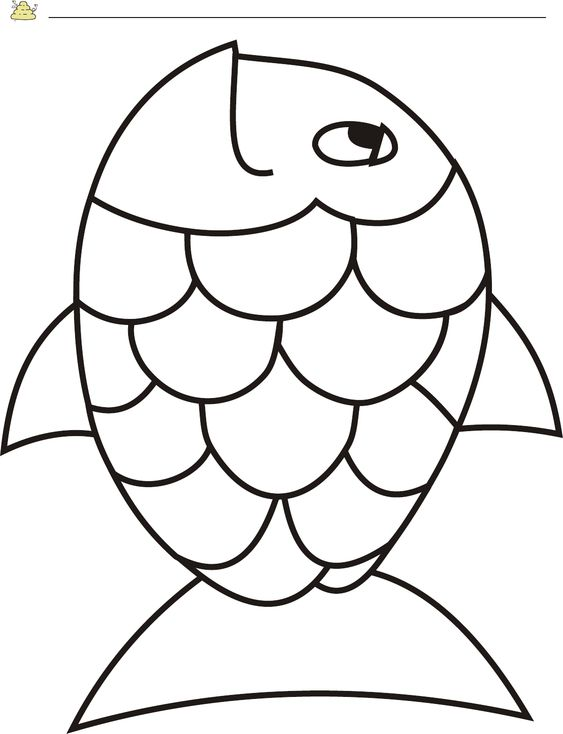 Template Rainbow Pages Free Fish Page Pdffree Rainbow Fish Template Pdf 2 Page S Page 2 Rainbow Fish Crafts Rainbow Fish Template Fish Template
