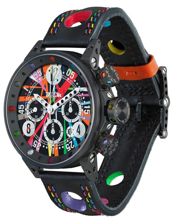 B.R.M. Watches Art Car V12-44 Limited Edition #add-content #basel-16…