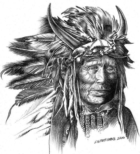 Indian Chief by Xagamus.deviantart.com on @deviantART