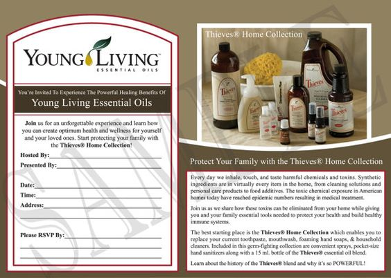 New Printable Young Living Party Invitation By