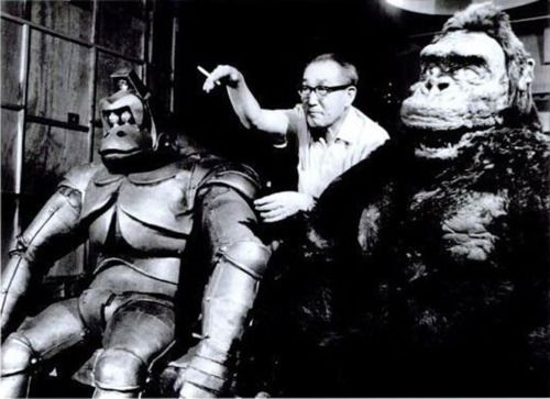 King Kong Escapes (1967). Behind the scenes at Toho Studios.