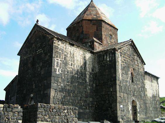 Sewan-Kloster - Armenien. 9.Jahrhundert