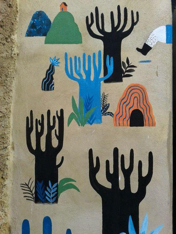 Ana Pez: MIAU (Museo Inacabado de Arte Urbano) en Fanzara (Castellón)