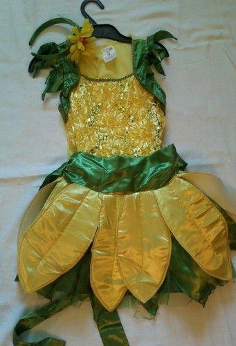 love this sun flower costume with headband fits bella