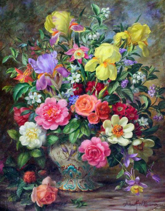 Painting by artist Albert Williams: