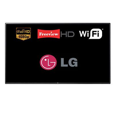 "LG 43LH604V 43"" Smart LED TV Full HD 1080p WebOS WiFi Freeview HD Unit Only  https://t.co/HnnxlLmbOo https://t.co/nDu9ZRZFfV"
