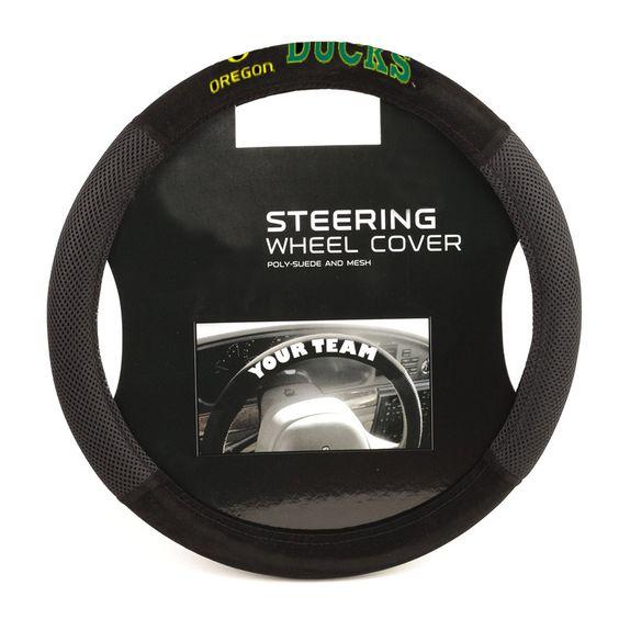 Oregon Ducks NCAA Mesh Steering Wheel Cover