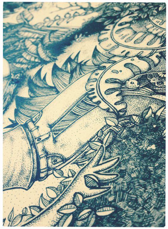 Procurando... by Isabela Coelho Dourado, via Behance